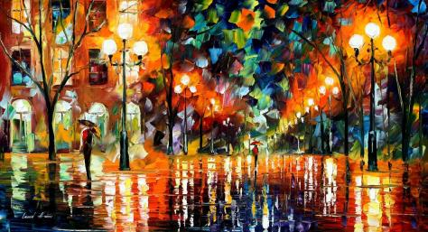 The Spectrum for Happiness- Leonid Afremov